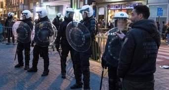 В центре Брюсселя полиция задержала около 100 человек: появилось видео