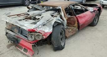Невідомий виклав майже 40 тисяч доларів за вщент згорілу Ferrari
