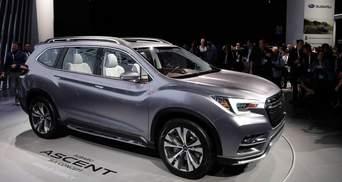 Представлений наступник Subaru Tribeca
