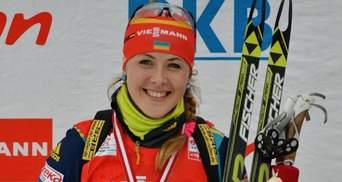 Биатлон: украинка Юлия Джима выборола вторую медаль подряд