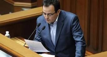 Березюк йде із засідання Ради, щоб підтримати Саакашвілі