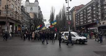 Марш у Києві: скільки зібралося активістів та правоохоронців