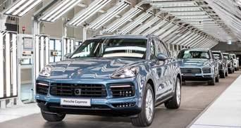 Для производства роскошного Porsche Cayenne нужны украинцы