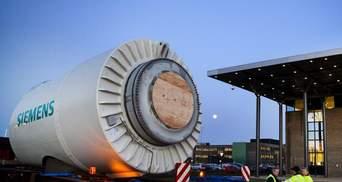 Росія відмовилась повернути турбіни Siemens, які були відправлені до Криму