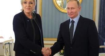 Марін ле Пен заявила про підтримку Путіна на виборах у 2018 році