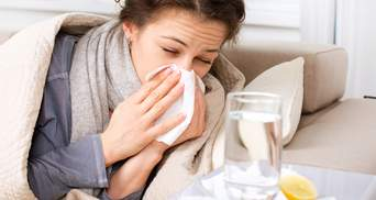 В Украине за прошедшую неделю гриппом и ОРВИ заболели почти 200 тысяч человек