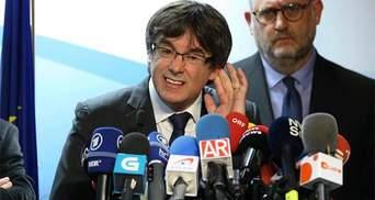 Пучдемон просит разрешение Испании вернуться в Каталонию