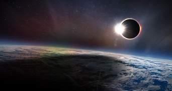Одним из лучших фото 2017 года стало солнечное затмение со стратосферы: удивительные кадры