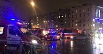 Появилось видео закладки взрывчатки в супермаркете Петербурга