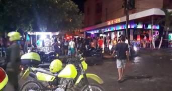 Невідомий мотоцикліст кинув гранату у нічний клуб у Колумбії: багато поранених