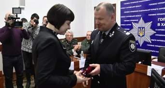 """Поліція нагородила чотирьох харків'ян за знешкодження нападника на """"Укрпошту"""""""