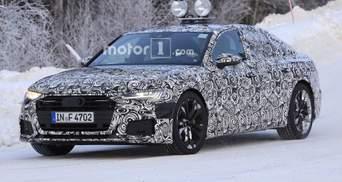 Шпионские фото новой Audi A6