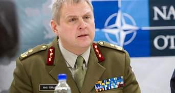 Естонський генерал звинуватив Росію у підготовці війни проти НАТО