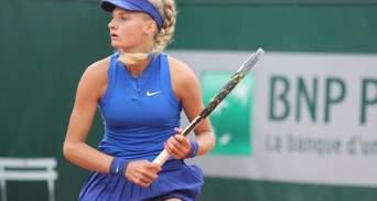 Українська тенісистка очолила світовий рейтинг юніорів