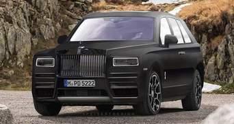 Новий позашляховик Rolls-Royce потрапив в об'єктиви папараці