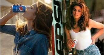 Сінді Кроуфорд знялась в рекламі Pepsi, як 26 років тому: відео