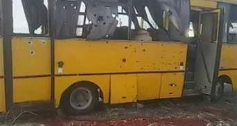 В окупованому Докучаєвську розвісили листівки з вибаченнями за розстріл автобуса під Волновахою