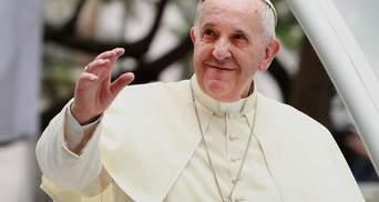 Папа Франциск встретится с украинским мигрантами в Риме