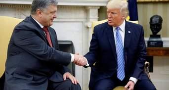 У США прокоментували ймовірність зустрічі Трампа з Порошенком