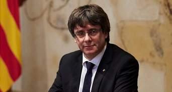 Пучдемон стал кандидатом на пост главы правительства Каталонии