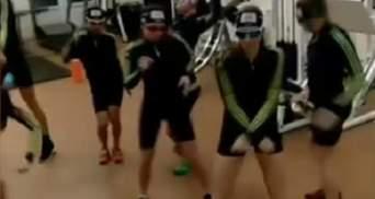 Украинские спортсмены поддержали флешмоб и станцевали под Satisfaction: видео
