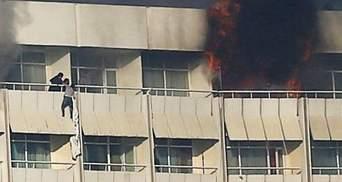 """Террористы """"Талибана"""" показали фото боевиков, убивших украинцев в отеле Кабула"""