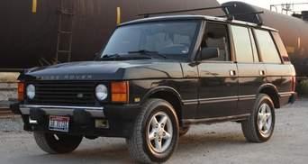 Британці здивували автолюбителів новою модифікацією першого Range Rover
