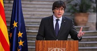 Іспанія просить висунути іншого кандидата на пост глави уряду замість Пучдемона