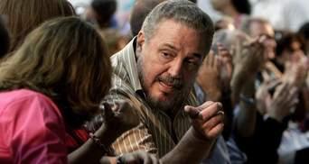"""Дивна смерть сина диктатора: ким був і чому наклав на себе руки """"Фіделіто"""" Кастро?"""