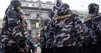"""Форма """"Национальных дружин"""": стало известно, кто покупает одежду активистам и почему она похожа на форму """"Беркута"""""""