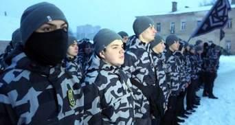 """Билецкий объяснил, почему бойцы """"Национальных дружин"""" скрывают лица балаклавами"""