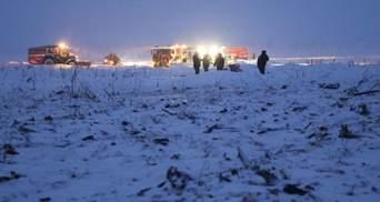 Російські слідчі сповістили деталі катастрофи Ан-148