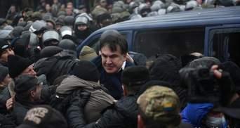 Саакашвілі затримали в Києві: з'явилися відео