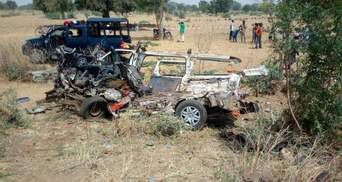 Ужасное ДТП в Нигерии: погибло много детей