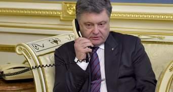 Порошенко подтвердил недавнюю беседу с Путиным и назвал главные темы