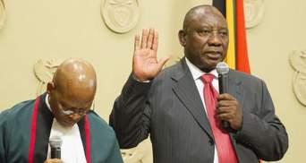 Новим президентом ПАР став олігарх: єдиного кандидата обрали без голосування