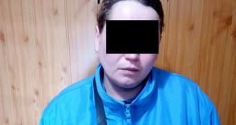 "Пограничники поймали участницу ""Оплота"": фото"