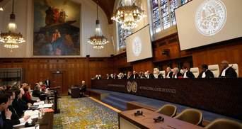Украина подаст в суд в Гааге относительно военных преступлений России