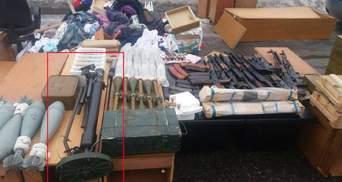 Волонтер вказав на незвичну зброю, з якою затримали Рубана