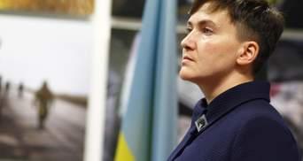 Савченко палкими словами підтримала Рубана на суді