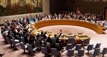 Україна скликає спецзасідання Радбезу ООН через вибори президента Росії в Криму
