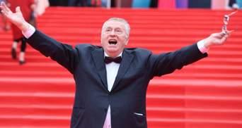 Жириновский отреагировал на слезы Собчак во время дебатов с ним