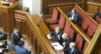 У мережі з'явилося відео реакції Гонтаревої на звільнення