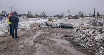 Від машини майже нічого не залишилося: іноземці постраждали внаслідок гучної ДТП у Києві