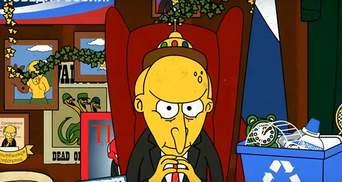 """Про новий президентський термін Путіна створили їдке відео у стилі """"Сімпсонів"""""""