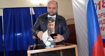 ЗМІ назвали місця, на яких цікаво голосували за Путіна