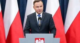 Президент Польщі не буде вітати Путіна з перемогою: відома причина