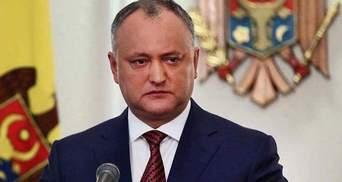 Президент Молдовы заявил, что выдворение дипломатов – это очередная антироссийская провокация