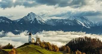 Дивовижні фото Словенії, які заманюють туристів відвідати країну
