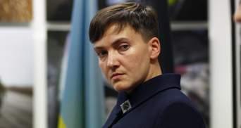 Пусть меня судит суд Господень, – Савченко отметилась очередной выходкой в суде